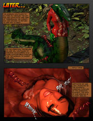 Emily and the Gorgon's Revenge, Preview of Page 21 by UmbraDiadem