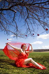 Apple Woman by Holly Bynoe by Sweet-Scarling