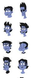Face Shapes by SouthParkAnimator
