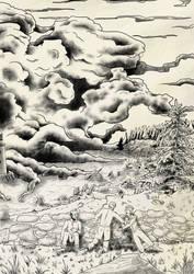 Terror of Stillwater Bay - outlined by Czentara