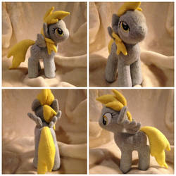 Mini Derpy by The-Plushatiers