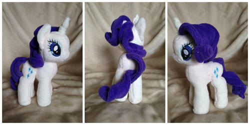 Mini Rarity Plushie by The-Plushatiers