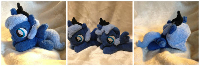 Filly Princess Luna Beanie by The-Plushatiers