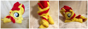 Filly Sunset Shimmer Beanie by The-Plushatiers