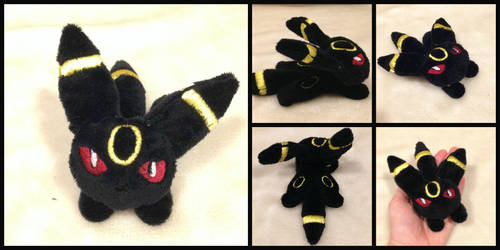 Umbreon Micro Plush Pokemon by The-Plushatiers