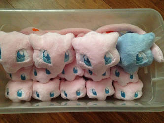 Bucket of Mews by The-Plushatiers