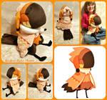 Shy the Akriri/Birdfolk Lifesize Plush by The-Plushatiers