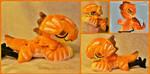 Cinn the JR/NebNom life size beanie plush by The-Plushatiers