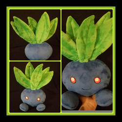 Oddish Pokemon Standard Plush by The-Plushatiers