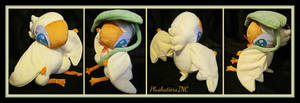 Ducky The Birdfolk Plush by The-Plushatiers
