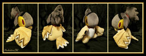 Arya the Birdfolk Plush by The-Plushatiers
