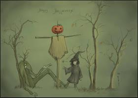 Happy Halloween by Kaelte