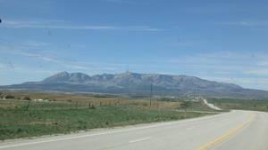 Utah Mountain Range by anrandap