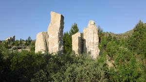 Idaho Botanical Garden Stones by anrandap