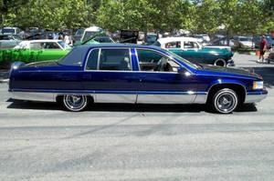 Lowrider Cadillac Car by anrandap