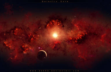 Galactic Core by esk6a