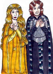 Eowyn and Faramir-bachel60 by lotr-ships