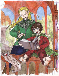 Of Elves and Hobbits by lotr-ships