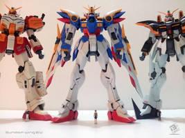 Gundam Wing EW x3 by B-Werx