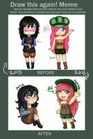 Draw this again: Chibi by EllenorMererid