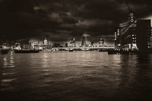 A London Night by Shadoisk