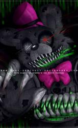 =FNAF= nightmare fredbear by Amel-Genius17