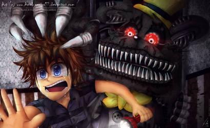 =fnaf= Nightmare! by Amel-Genius17