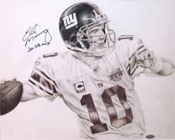Eli Manning by MarkosTheGreat