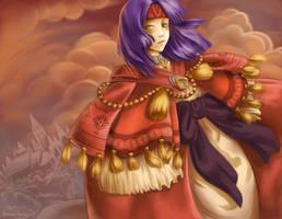 FE9: Empress Sanaki by aiimeii