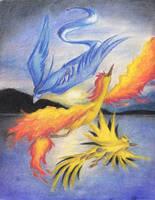 Legendary Birds by aiimeii