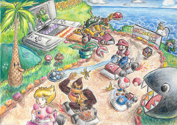 Mario Kart by aiimeii