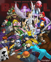 Super Smash Brothers...BRAWL by aiimeii