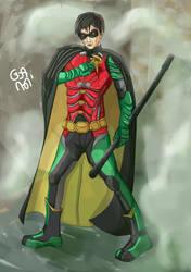 Robin Titans Series by ahimsa2