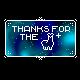 [BUTTON] Galaxy Blue LLAMA by CorginautCreations