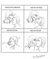 KakuHida - Cute kiss Meme by Hoppspindel
