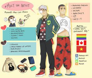 Meet The Artist by MooseFroos