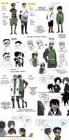 Naruto OC Art Dump 1 by MooseFroos