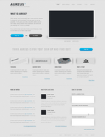 Minimal Website Template .PSD by YesIMaDesigner