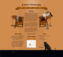 Clear Animal Website Template .PSD by YesIMaDesigner
