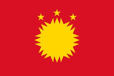Peru-Bolivian Confederation Simplified Flag V1 by Epicduke