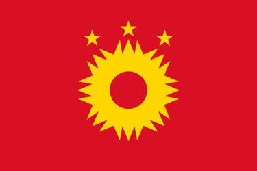 Peru-Bolivian Confederation Simplified Flag V2 by Epicduke