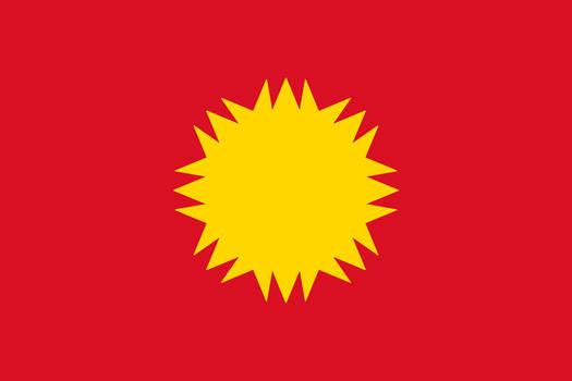 Peru-Bolivian Confederation Simplified Flag V4 by Epicduke