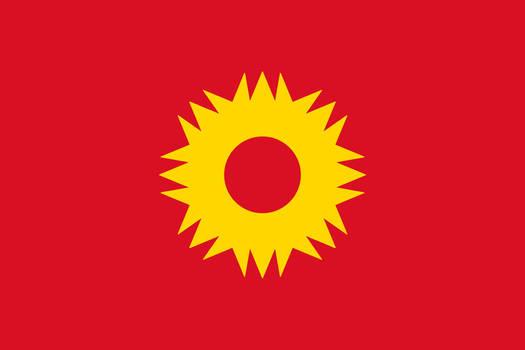 Peru-Bolivian Confederation Simplified Flag V5 by Epicduke