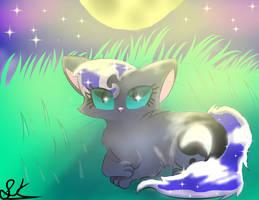 (OLD) Princess Luna as a Cat by StellarPixel64