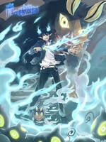 Ao no Exorcist : Rin to Kuro by allenerie
