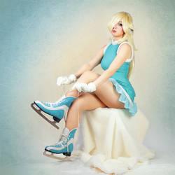 Rosalina Pin Up - Iceskating by Lie-chee