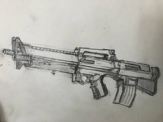 Wolf Ordnance M61A5 'Downshift' by HaruAxeman