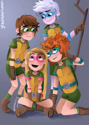 Turtle power by eas123