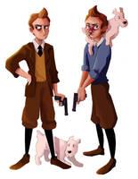 Tintin by eas123
