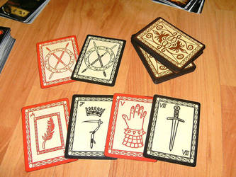 Xena: Warrior Princess deck of cards by thredith